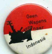Geen wapens naar Indonesië