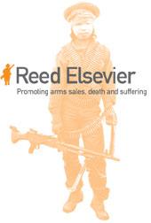 Reed Elsevier promoveert wapenverkopen