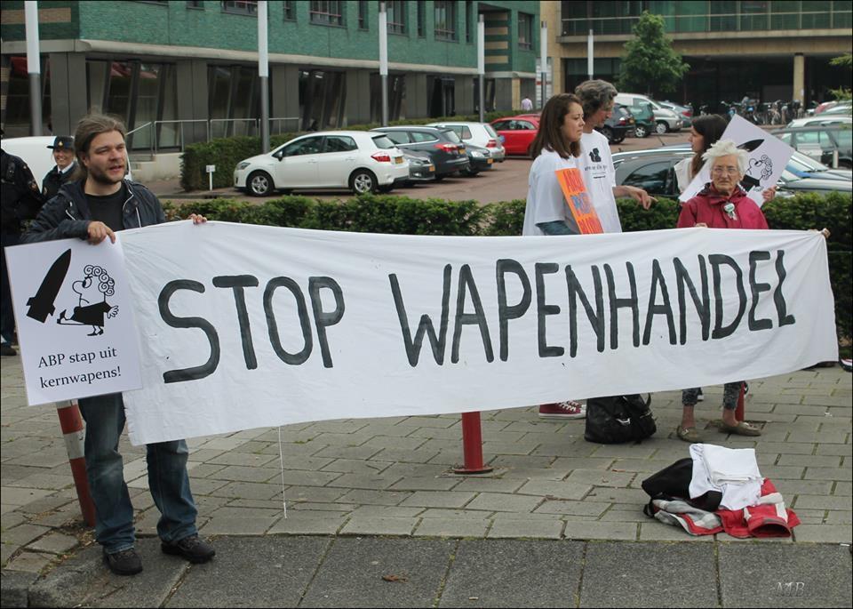 stop wapenhandel
